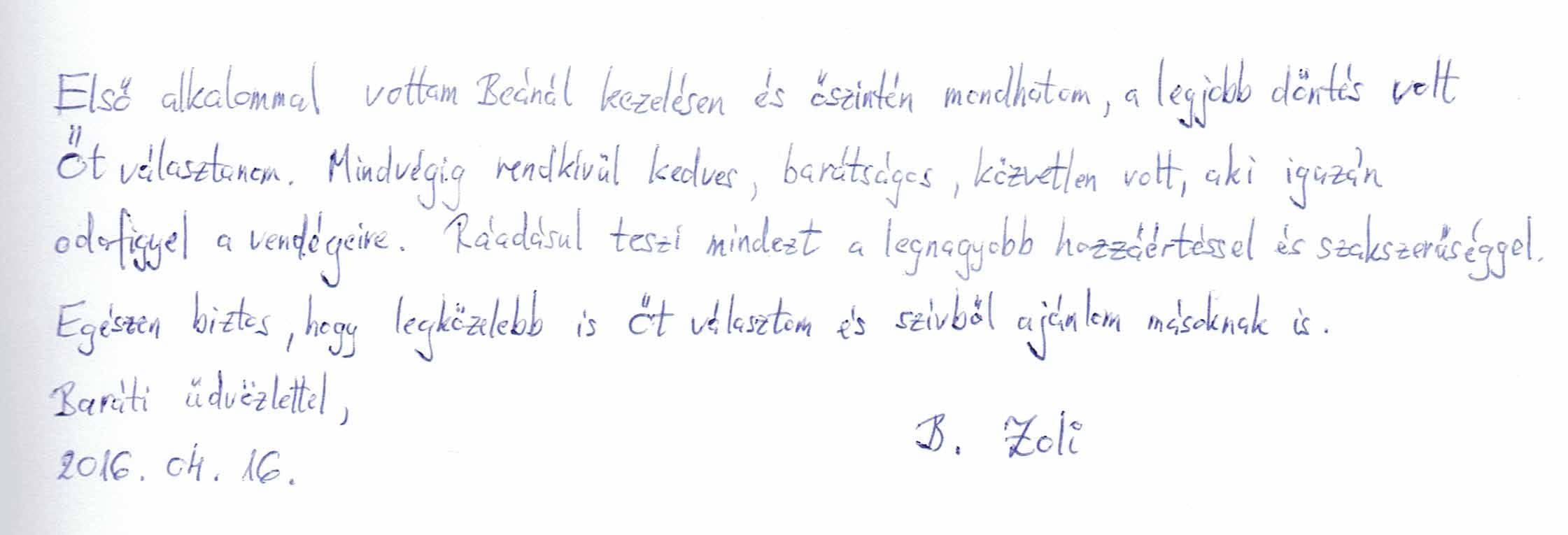 Vélemény Zoltántól