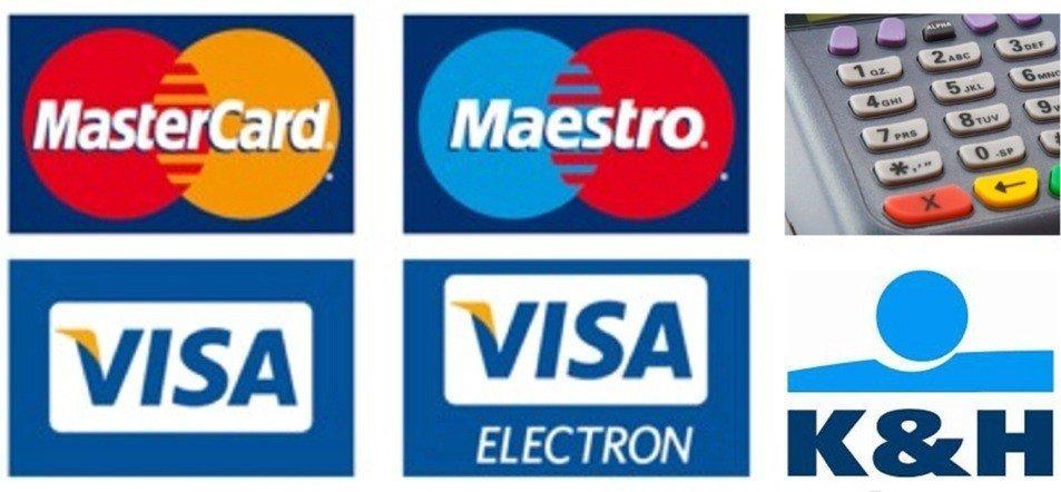 Fizetési feltételek - bankkártyás fizetés